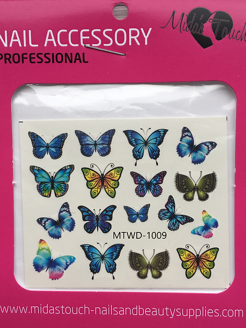 Butterfly Water Decal MTWD-1009