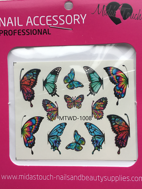 Butterfly Water Decal MTWD-1008