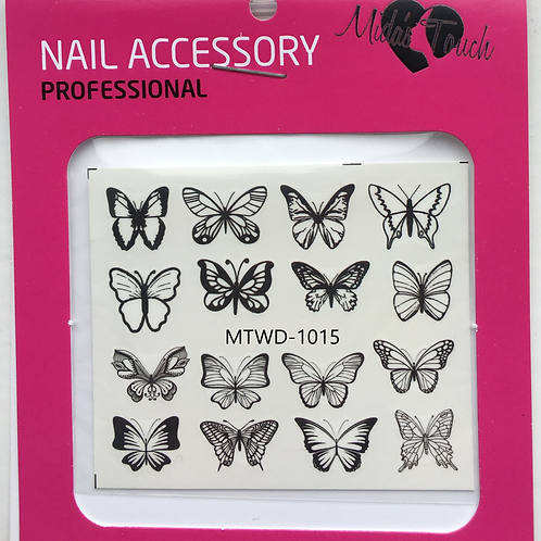 Butterfly Water Decal MTWD-1015
