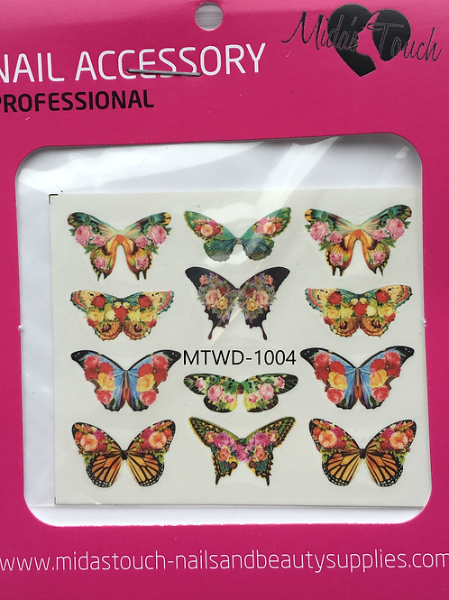 Butterfly Water Decal MTWD-1004