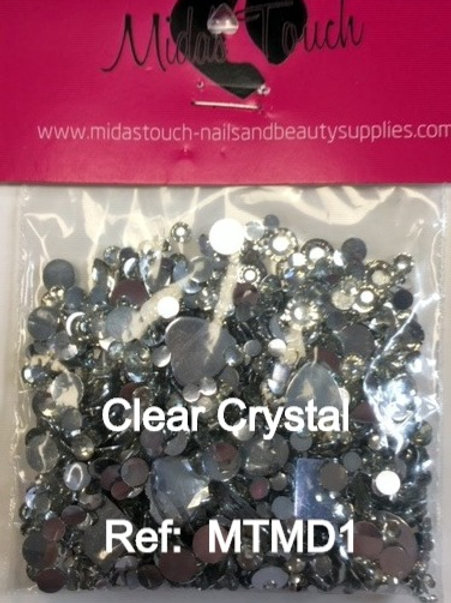 Crystal Rhinestone - mixed design