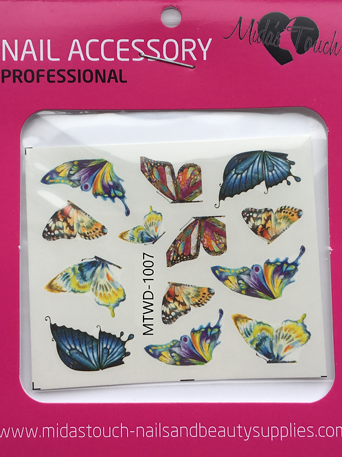 Butterfly Water Decal MTWD-1007