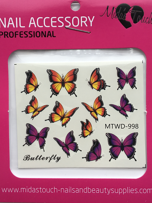 Butterfly Water Decal MTWD-998