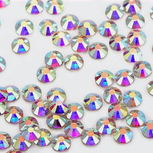 Clear crystal rhinestones, S20 & S34