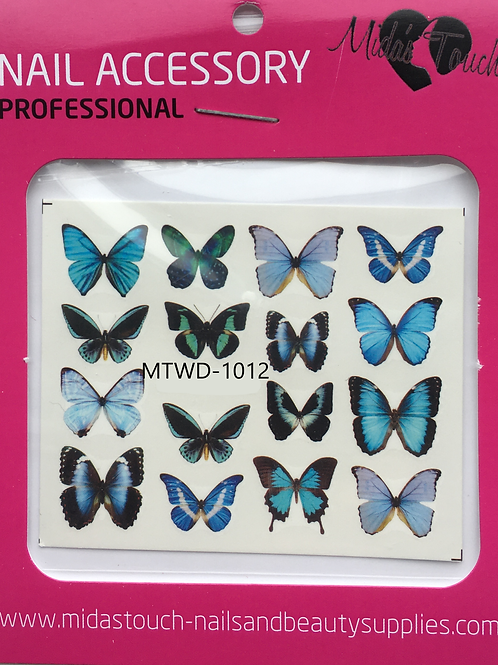 Butterfly Water Decal MTWD-1012