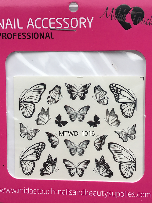 Butterfly Water Decal MTWD-1016