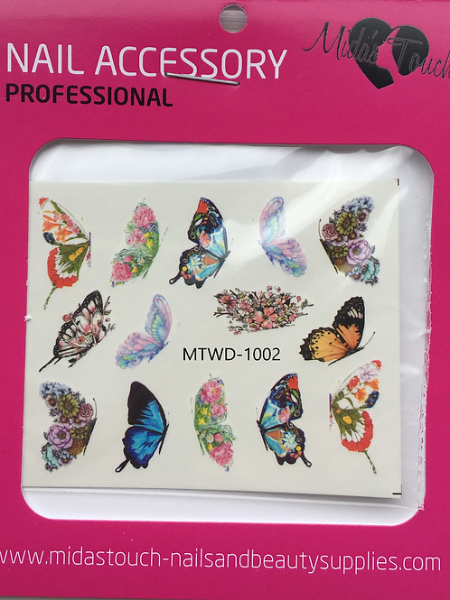 Butterfly Water Decal MTWD-1002