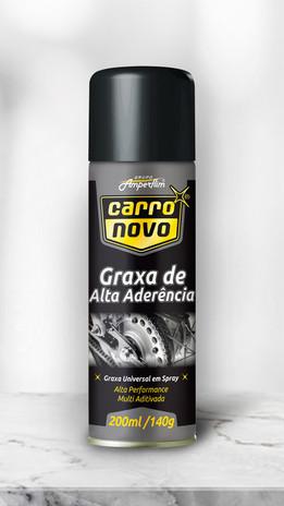 11.GRAXA DE ALTA ADERÊNCIA CARRO NOVO 200 ML AEROSSOL