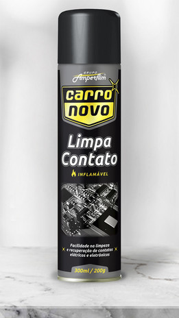 8.LIMPA CONTATO CARRO NOVO 300 ML AEROSSOL