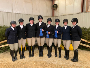 Three blue ribbons for JMU at the first show of the 2019-2020 season