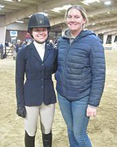 Briana and Sydney at UVA IHSA