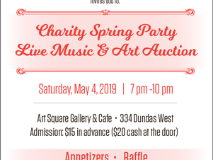 Charity Spring Party