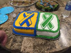 Boston/Newtown cake