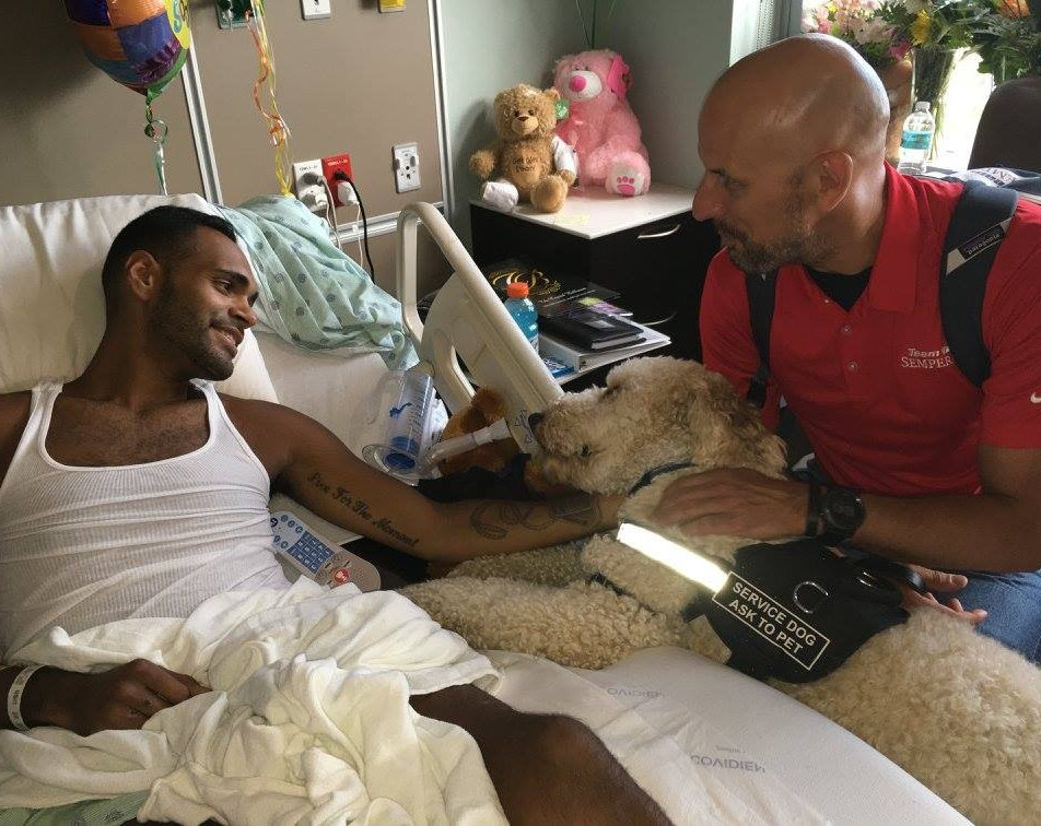 Boston Marathon survivor visiting victim of Pulse nightclub shooting