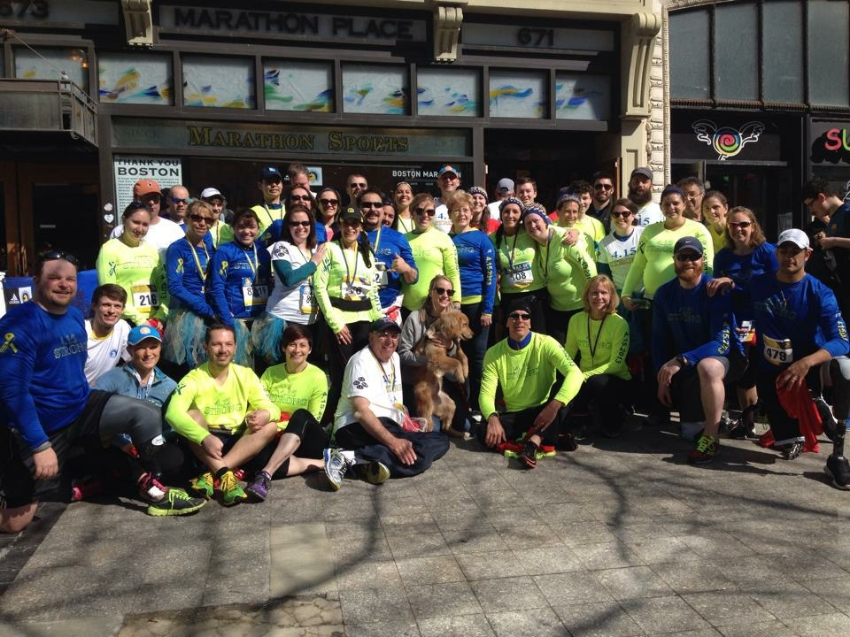 2014 Boston Marathon Team