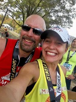 MCM finish line smile