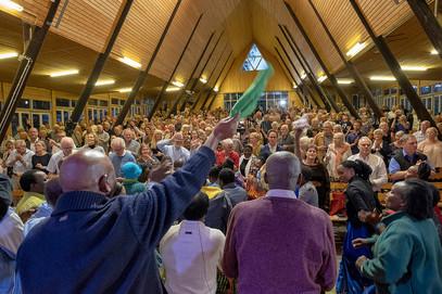 Nationell bönekonferens.