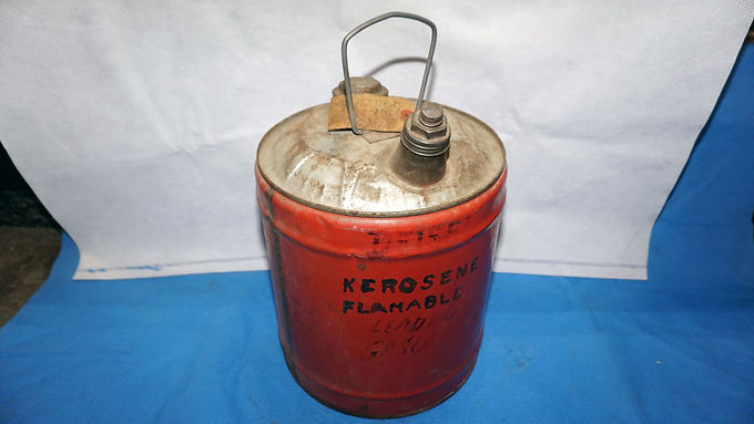 5 Gallons Fuel Container