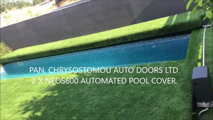 DITEC ENTREMATIC 2 X NEOS600 SLIDING OPERATORS FOR AUTOMATED POOL COVER