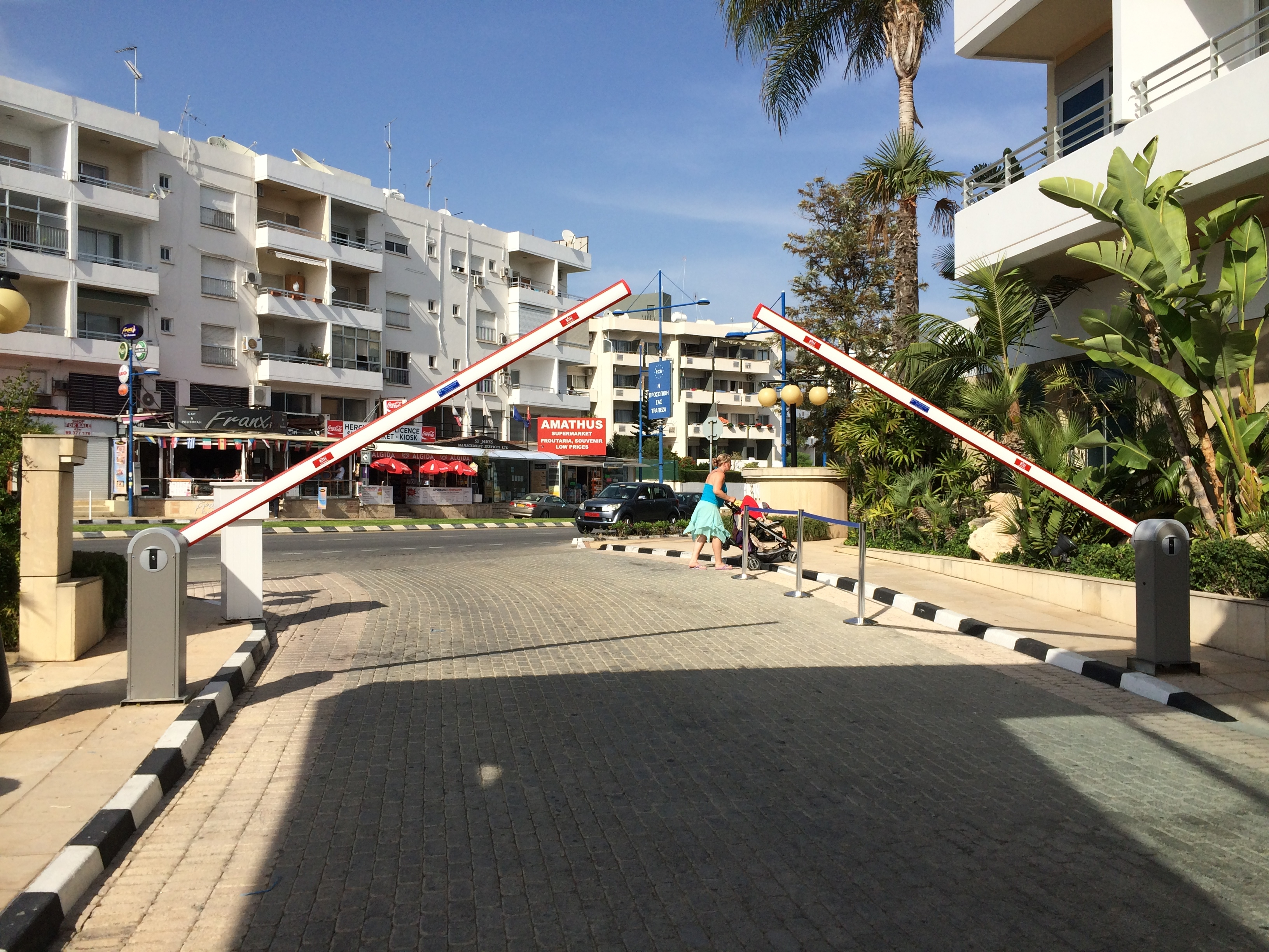 Ditec-QIK7EH Parking Barrier