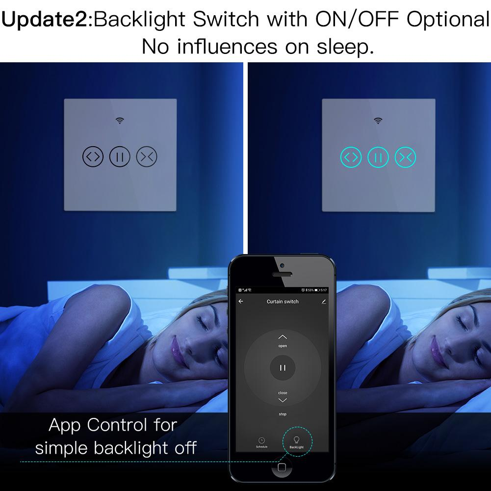 SMART SWITCH BACK LIGHT OFF