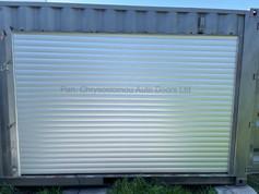 Roller Door 77mm on container