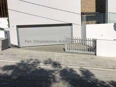 Ryterna SLICK Sectional Garage door & Ditec CROSS18E gate automation