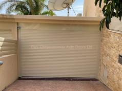 Roller garage Door Ivory Colour