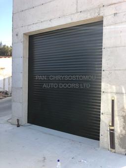 77mm ROLLER DOOR BLACK COLOUR