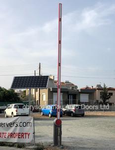 SOLAR POWERED QIK7EH PARKING BARRIER