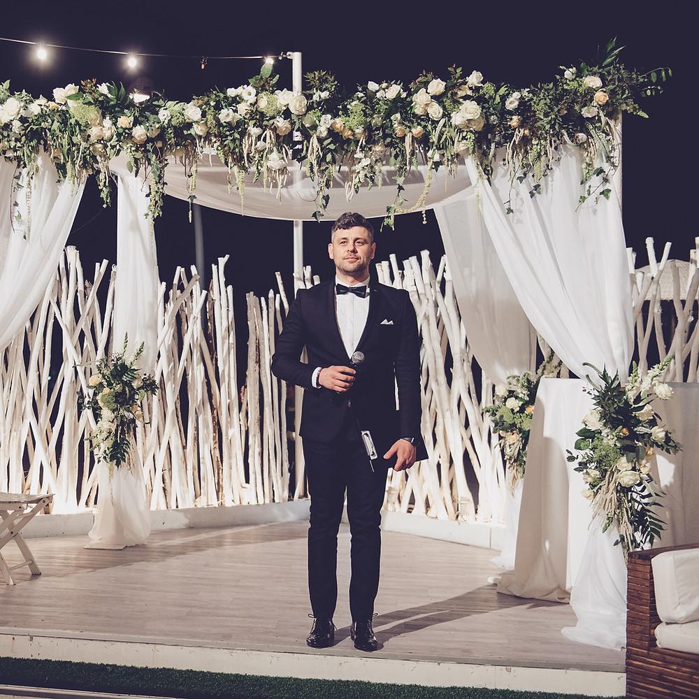 Mc Phil - свадьба в Израиле, лучший ведущий на свадьбу, свадебный тамада