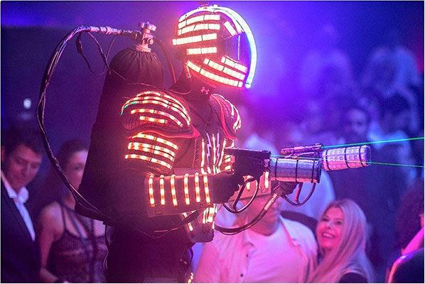 רובוט לדים לאירוע