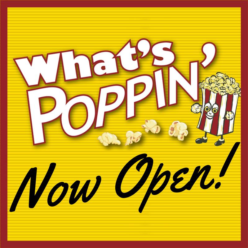 What poppin logo