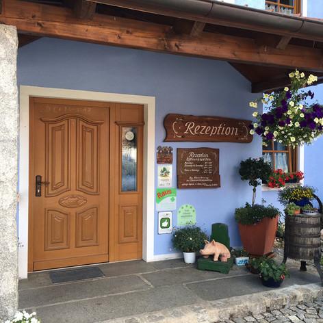Eingang Rezeption Schweinmühle