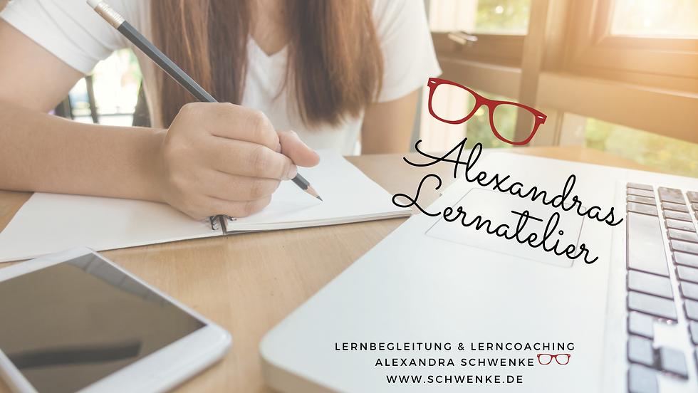 Titel Website Facebook Alexandras Lernat