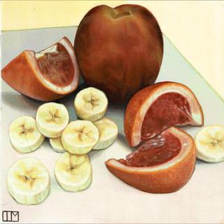 Peach Pie Fruit Salad