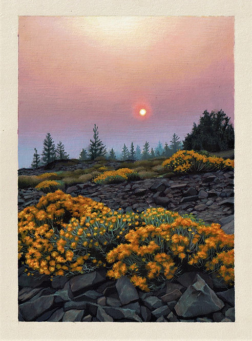 Slow Burn Original Painting