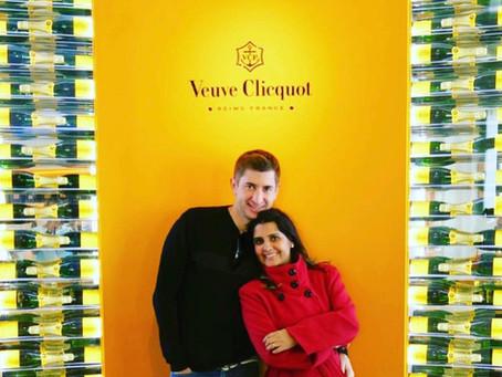 Tour pela cava Veuve Clicquot em Reins na França