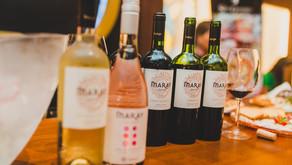 Degustações de vinhos Maray promovido pela Del Maipo