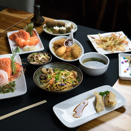 Dezembro de rodízio promocional no MaYuu Sushi