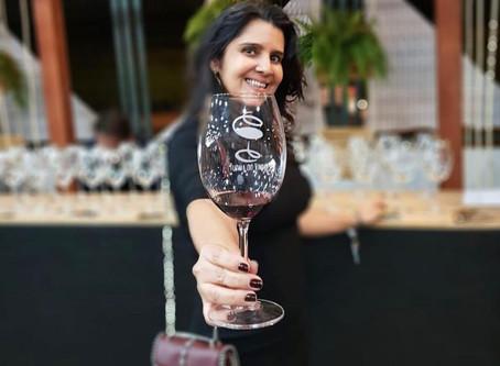 Taça personalizada da Turma do Vinho