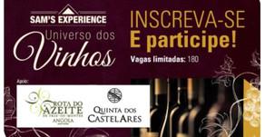 Começou a temporada do Sam's Experience: Universo dos Vinhos em Brasília!