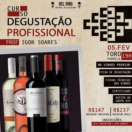 Curso Degustação de Vinho - 24º Edição