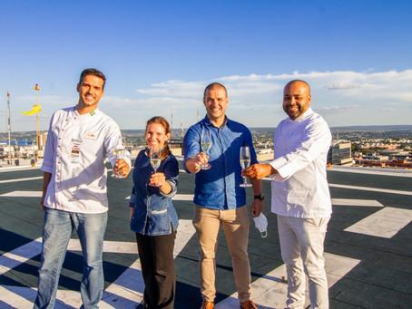 Brasília vista de cima: Restaurante Norton comemora aniversário da capital no Heliponto do Brasil