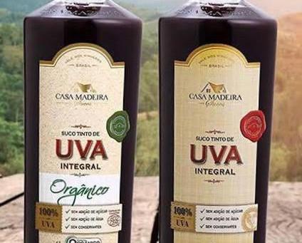 Suco de Uva Integral da Casa Madeira recebe prêmio durante a Wine South America 2019