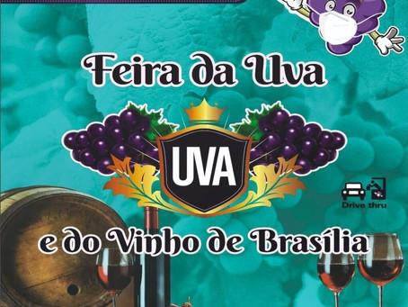 ABS-DF terá stand na I Feira da Uva e do Vinho de Brasília