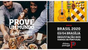 Brasília recebe Road Show 2020 com os Vinhos de Portugal