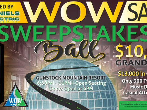 WOW Sweepstakes Ball Retires