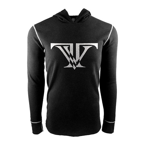 Tunnel Vision Hooded Thermal: Black/White