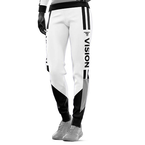 Summer Breeze Joggers: white and black
